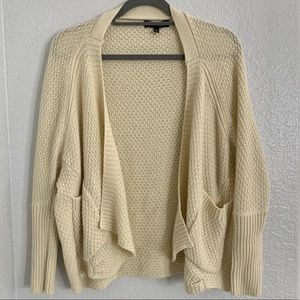 ANGL Cream colored Knit Sweater